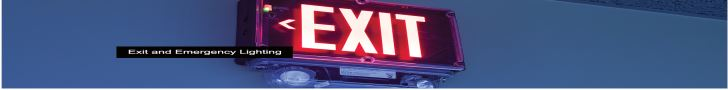 EXIT Sign Banner